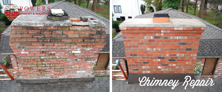 Chimney Repair Contractor In Seattle Wa Powers Chimney