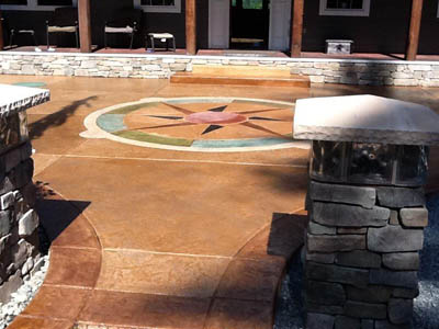 Custom Patio and Stonework