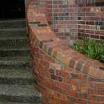 Stairs and Planter boxes